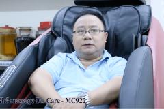 Khách hàng mua Ghế Massage Dr.Care 922 - Anh Dương
