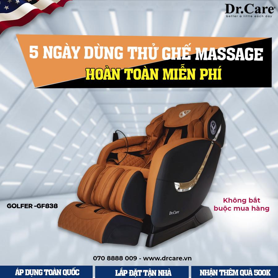 Hãy đăng ký dùng thử miễn phí Ghế Massage GF838 để trải nghiệm ngay hôm nay!
