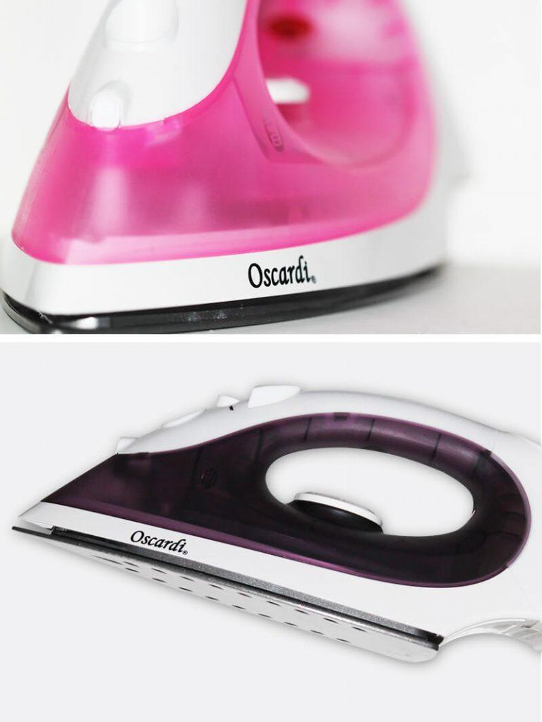 Chất liệu tốt, trọng lượng siêu nhẹ làm nên một bàn ủi Oscardi đẳng cấp.