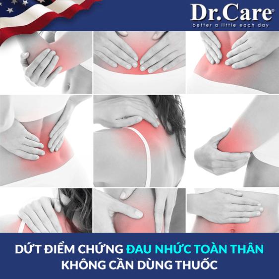 Ghế massage Dr.Care trị đau nhức toàn thân hiệu quả