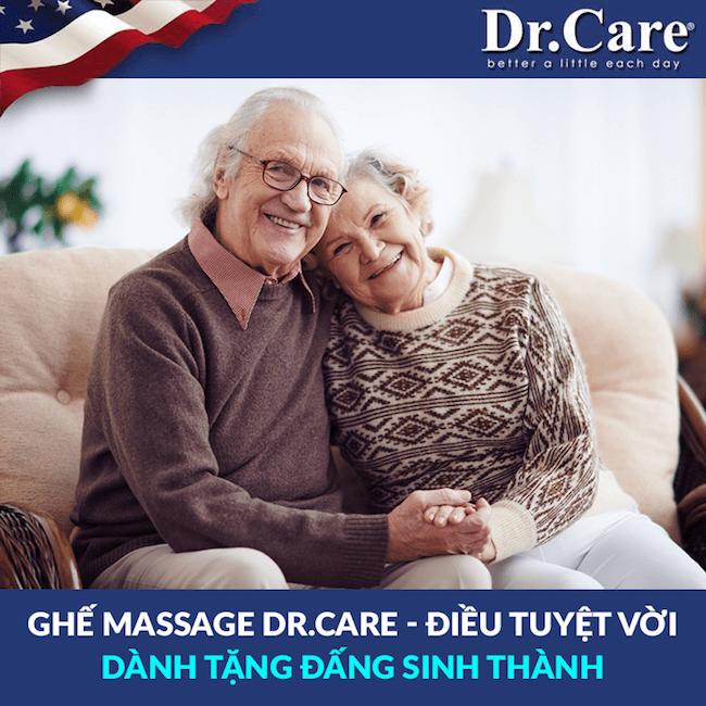 ghế massage Dr.Care quà tặng cha mẹ