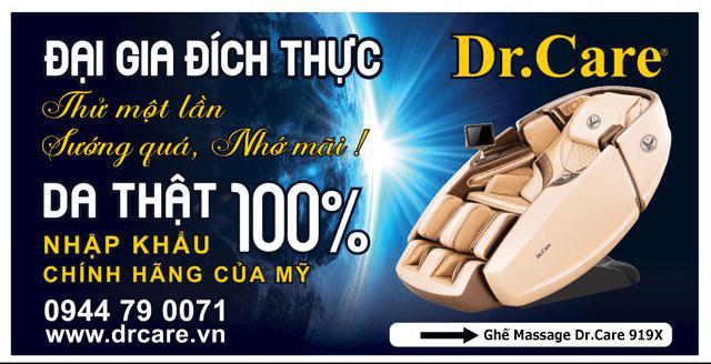 Ghế massage đại gia đích thực Dr.Care 919X