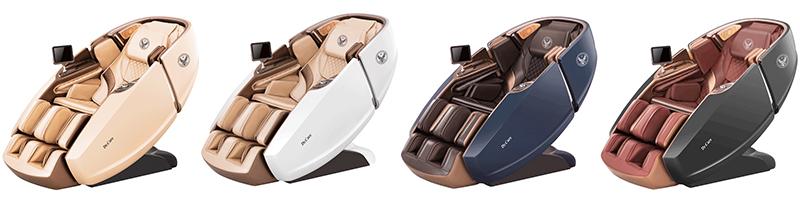 Ghế massage đại gia đích thực Dr.Care 919X có 4 màu cho bạn lựa chọn!