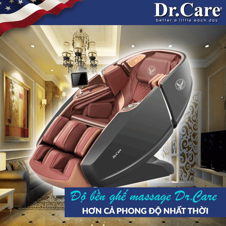Đề bền của Ghế massage đại gia đích thực Dr.Care 919X trên 30 năm