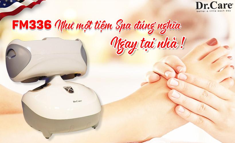 Một tiệm Spa đúng nghĩa ngay tại nhà, massage thoải mái bất cứ lúc nào mình muốn.