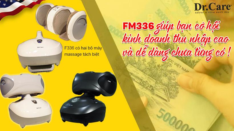 Cơ hội kinh doanh hiệu quả cao từ máy massage chân tính tiền tự động FM336.