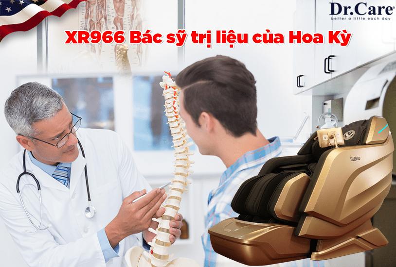 """XR966, Bác sỹ trị liệu của Hoa Kỳ, """"Sức khỏe của bạn, hãy để chuyên gia nhiểu kinh nghiệm chăm sóc !."""""""