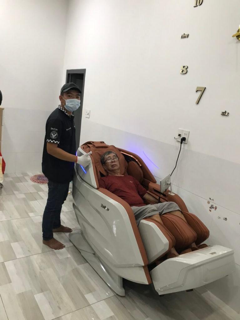 Cách dùng máy massage hiệu quả