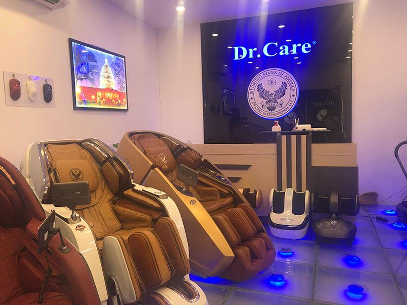 Thương hiệu máy mát xa Dr.Care có 19 năm tại Việt Nam, 24 năm tại Mỹ